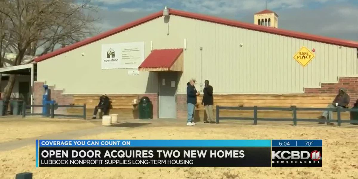 Open Door given new homes from another Lubbock non-profit