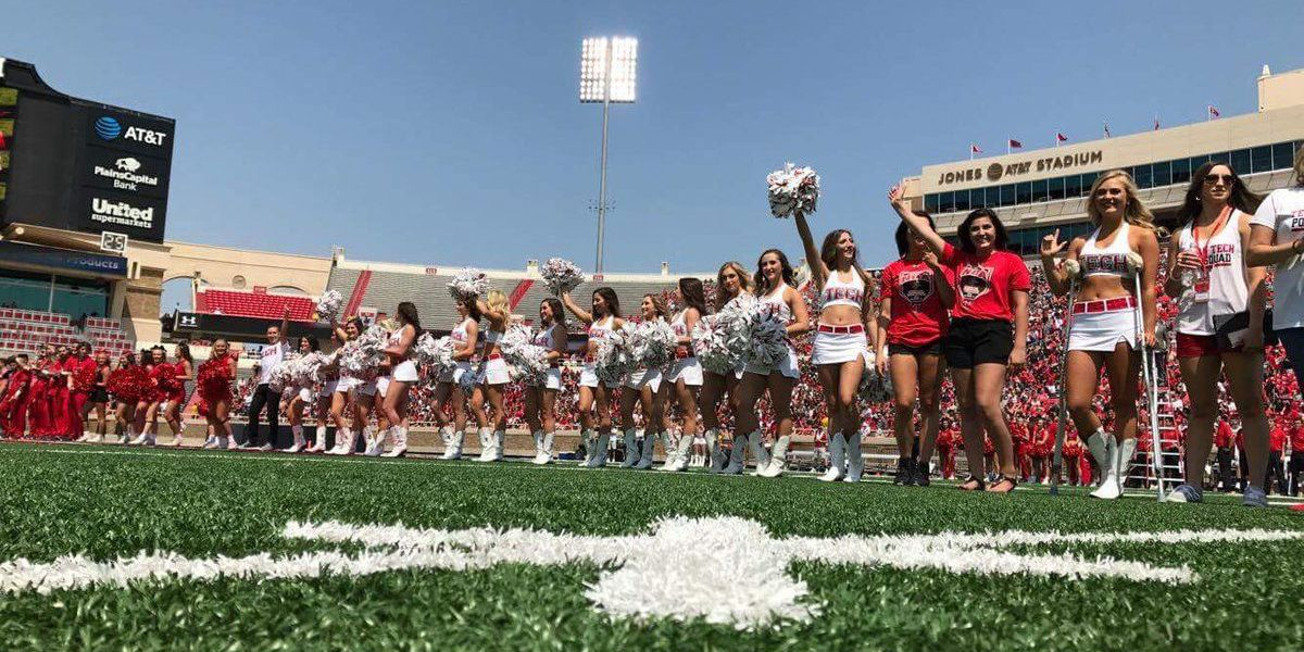 Red Raiders roll in opener, 56-10