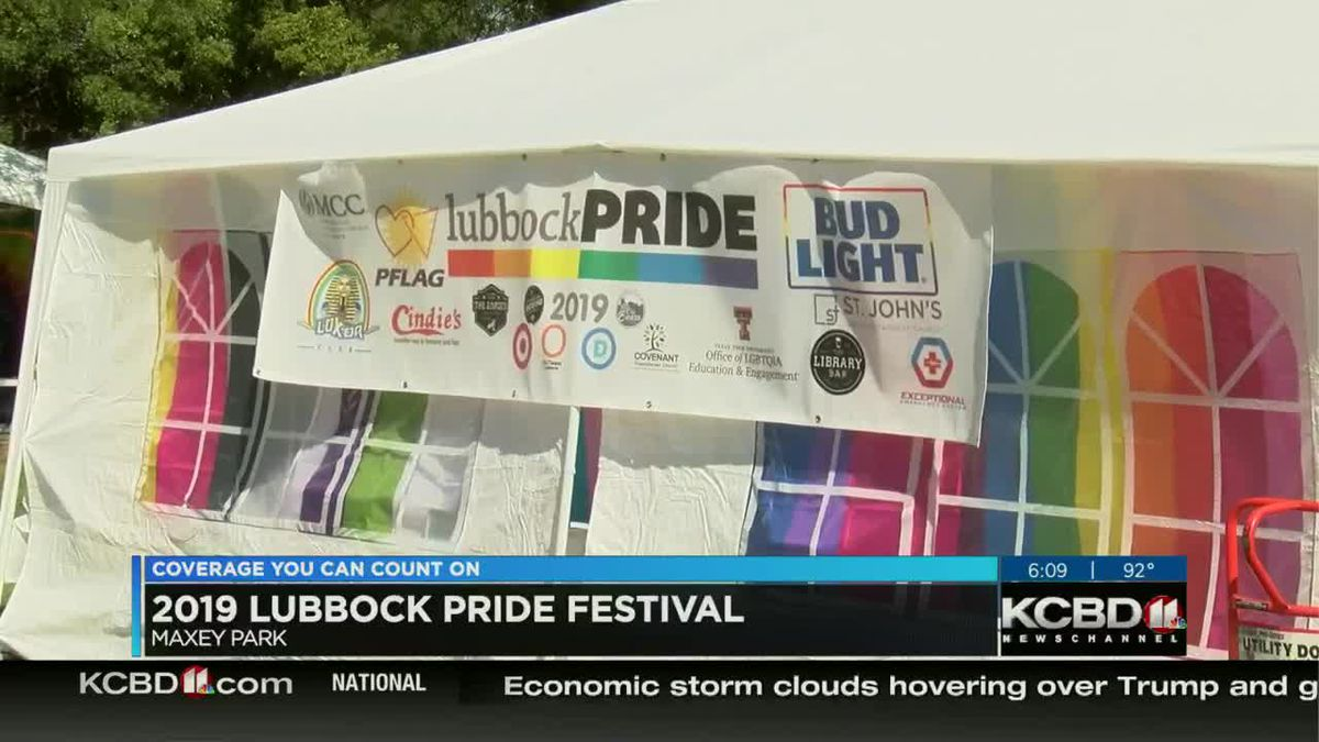 Lubbock showing Pride at Maxey Park