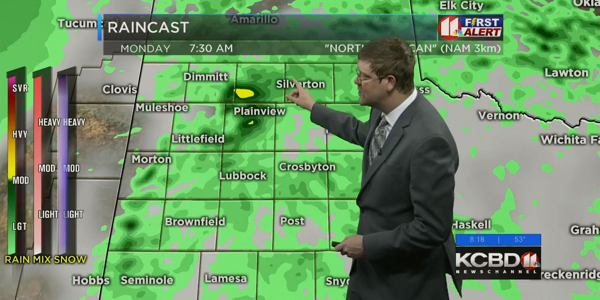 Pleasant weather for Sunday; Monday brings increased severe storm chances