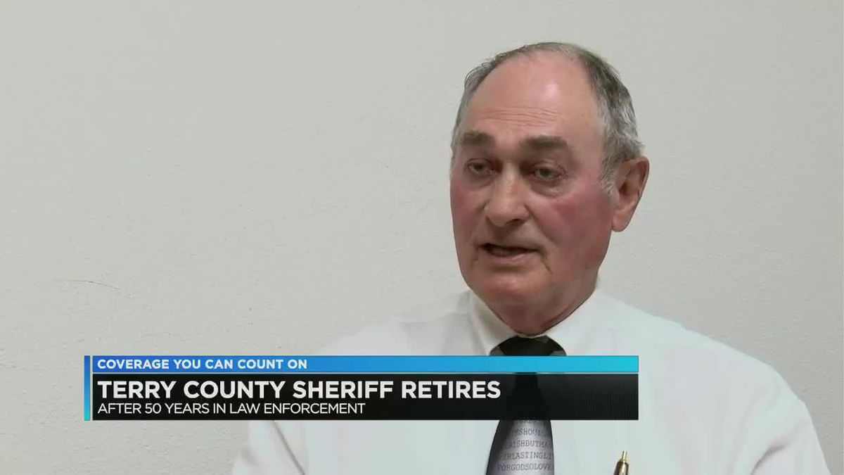 Terry County Sheriff will pass reigns to Chief Deputy on Tuesday