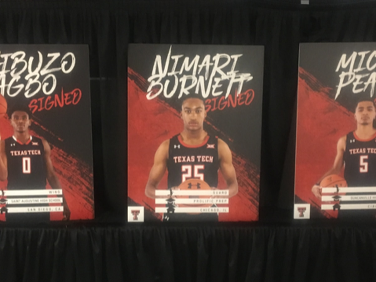 Red Raider Basketball has a top 5 recruiting Class for 2020