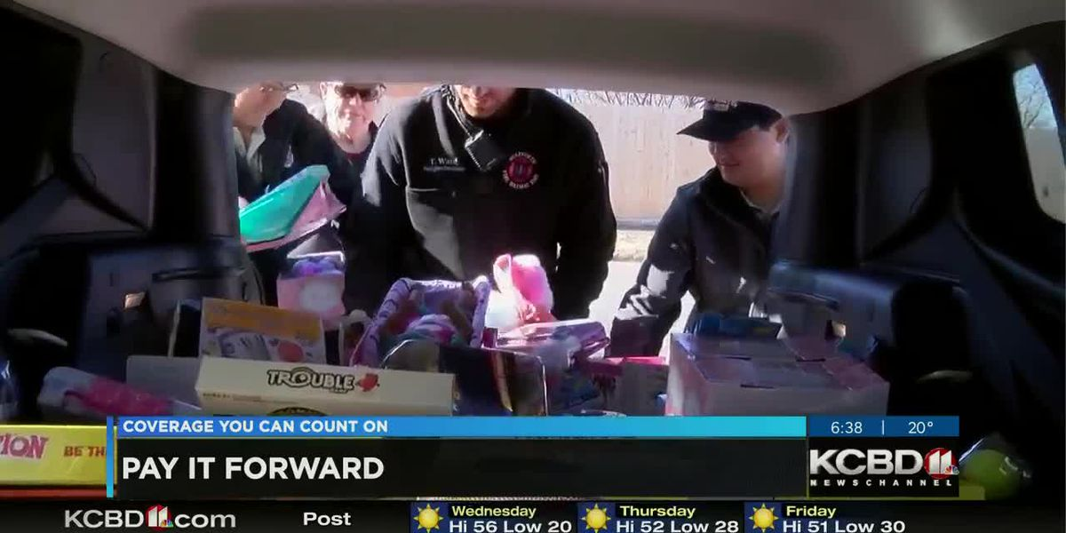 Pay It Forward: Kicking off Wolfforth EMS and Fire Department's 2019 Toy Drive
