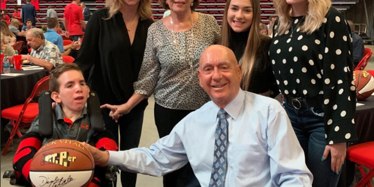 Dick Vitale in Lubbock for Charity event