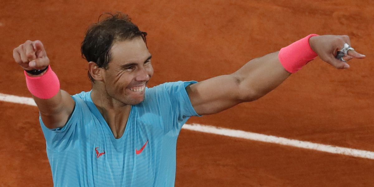 Perfect in Paris, Nadal overwhelms Djokovic to tie Federer