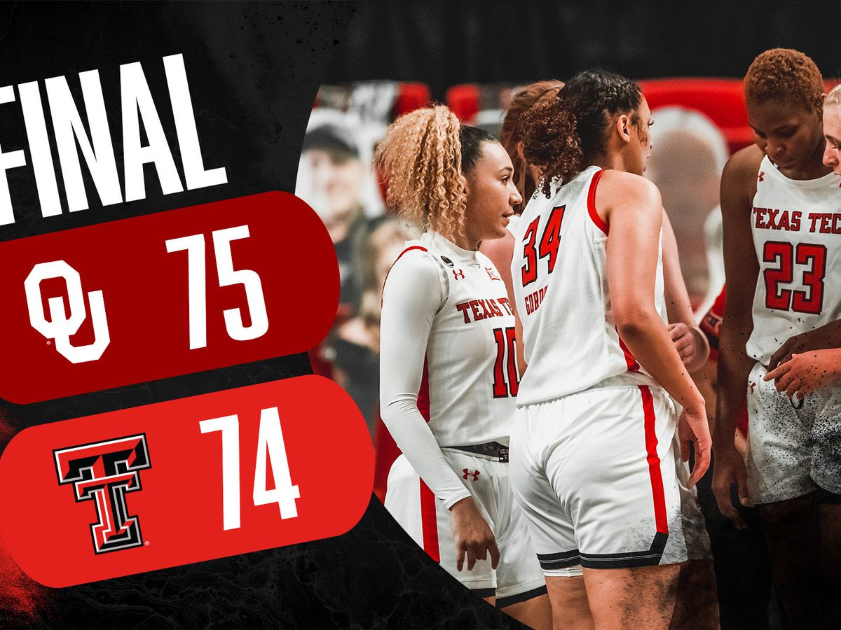 Lady Raiders lose a heartbreaker to Oklahoma