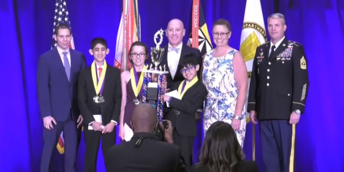 Lubbock sixth and seventh graders win national competition with science projects to prevent hot car deaths and deer-vehicle collisions