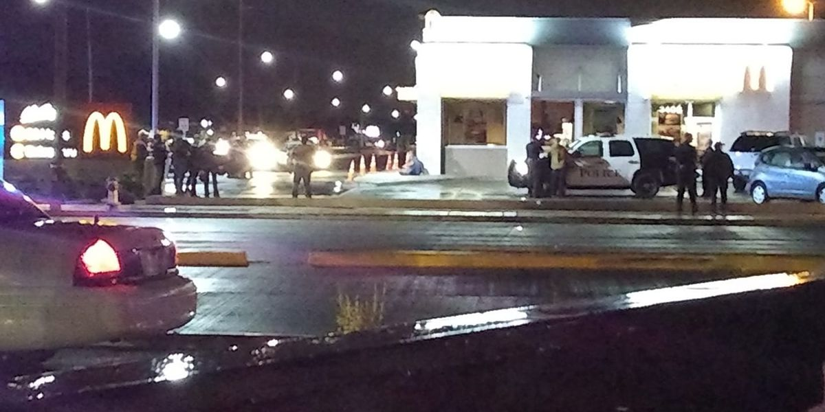 Lubbock police confront suicidal person at McDonald's at 34th & Quaker