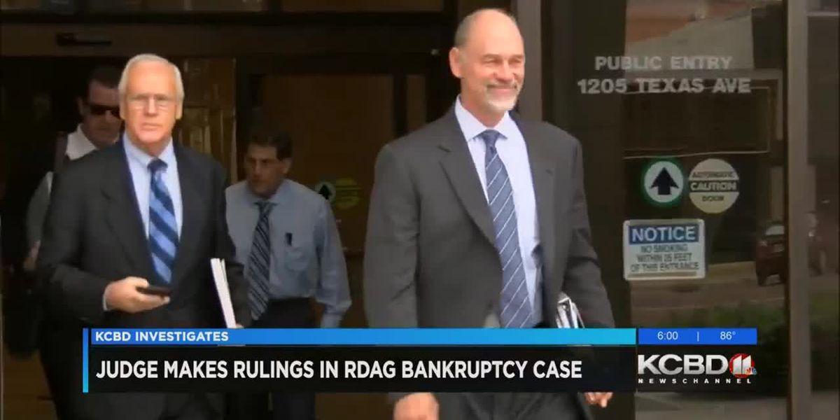 Judge makes rulings in Reagor-Dykes bankruptcy case