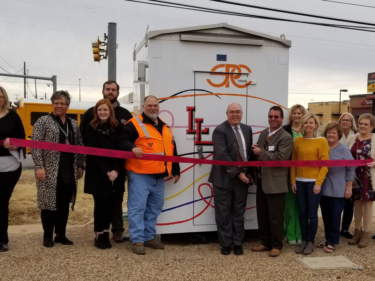 Ribbon cutting for Levelland's new Education Bungalow