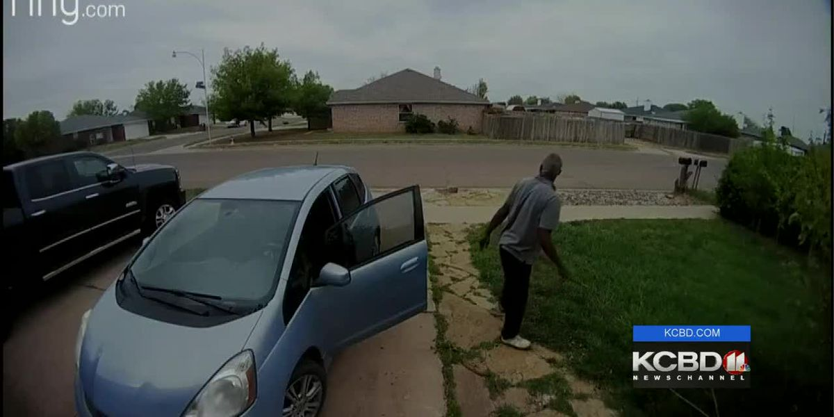 Wedding gifts stolen off front porch of Lubbock newlyweds