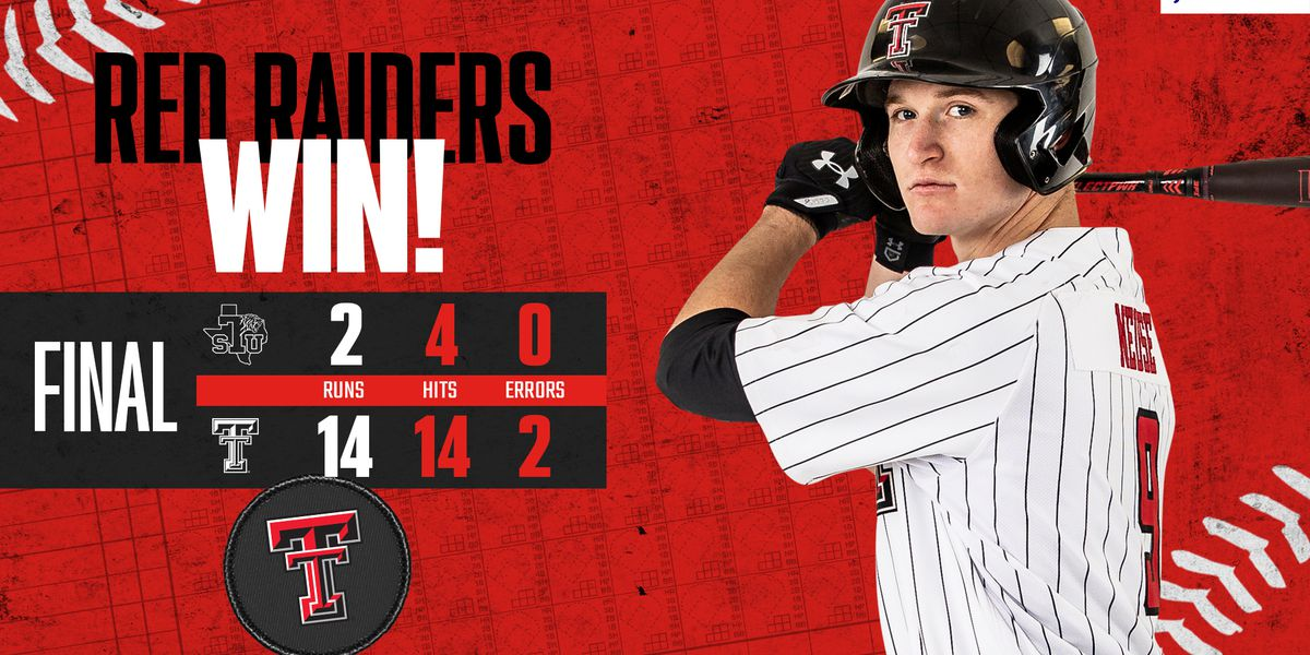 #10 Red Raiders make it 4 wins in a row