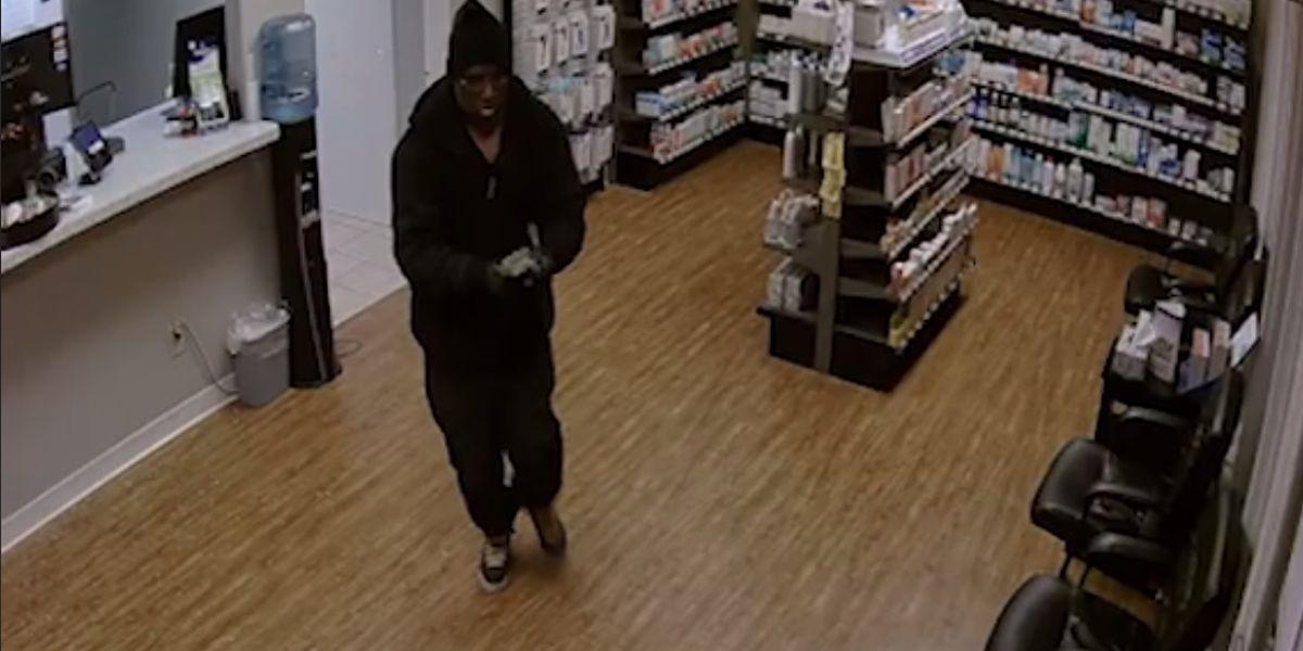 Lubbock Police searching for pharmacy burglar