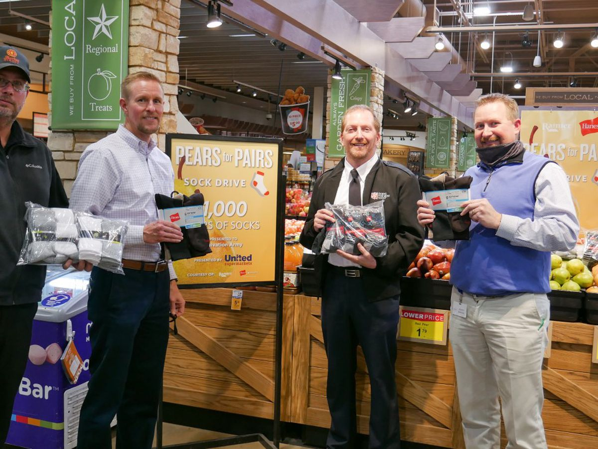 United Family donates 1,000 pairs of socks to Salvation Army of Lubbock