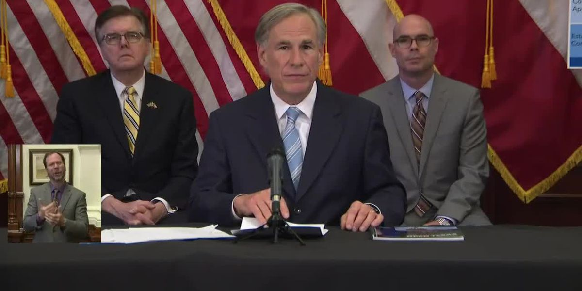 Governor Abbott issues executive order to open some businesses with limited capacity