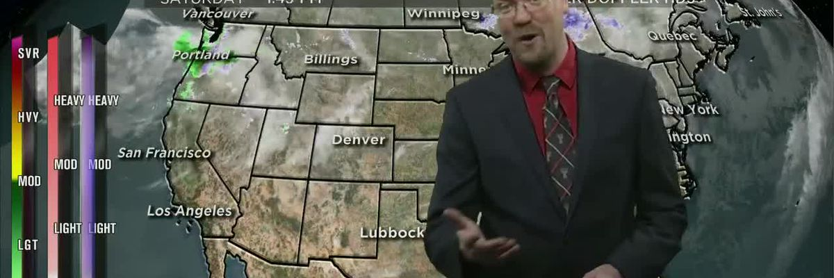 KCBD Weather at 6 for Feb. 15