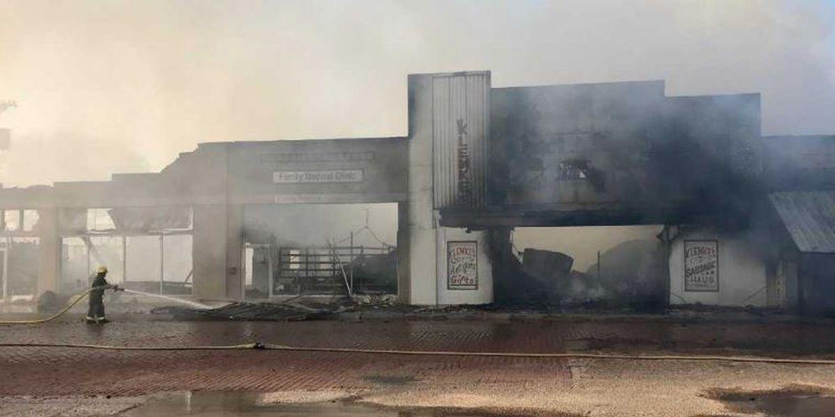 Klemke's fire still smouldering, Slaton Bakery closed this week
