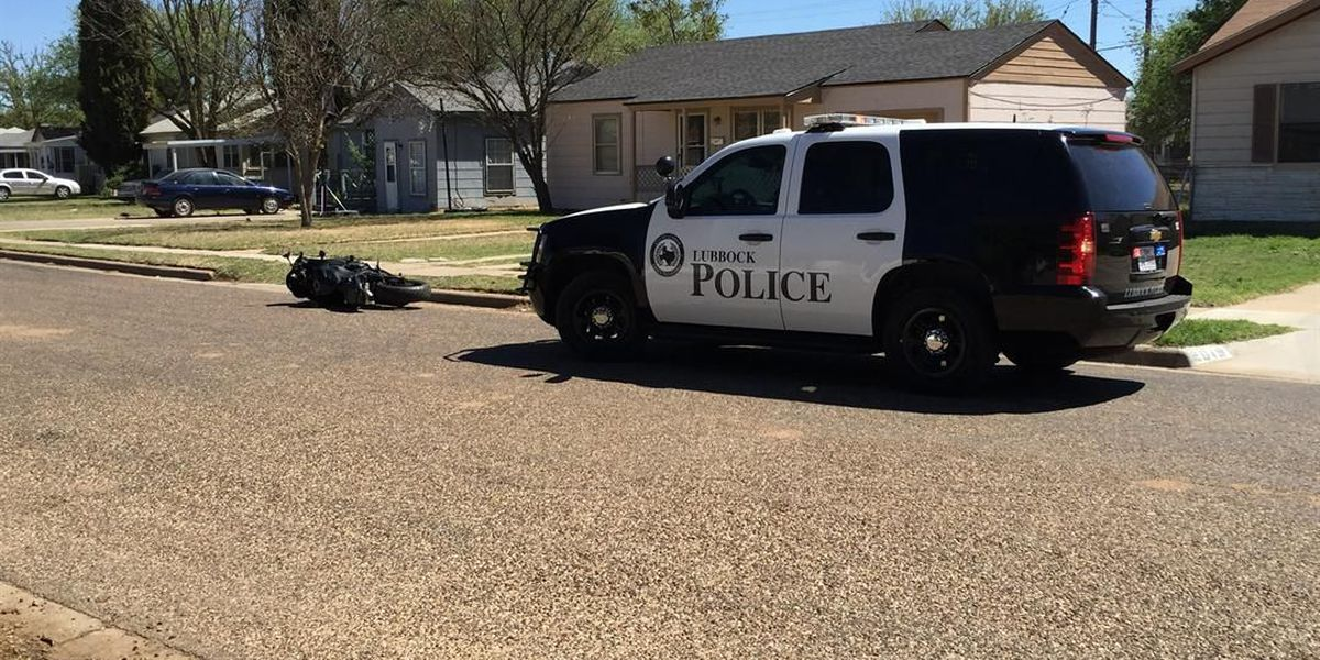 Lubbock police find suspect hiding in bushes after motorcycle chase