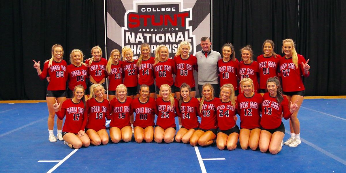Texas Tech's cheer coach, cheerleaders take top honors at STUNT Competition