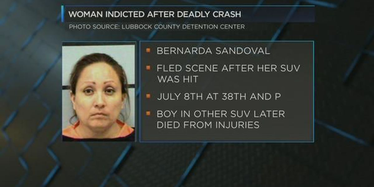 Lubbock woman indicted, charged in deadly accident