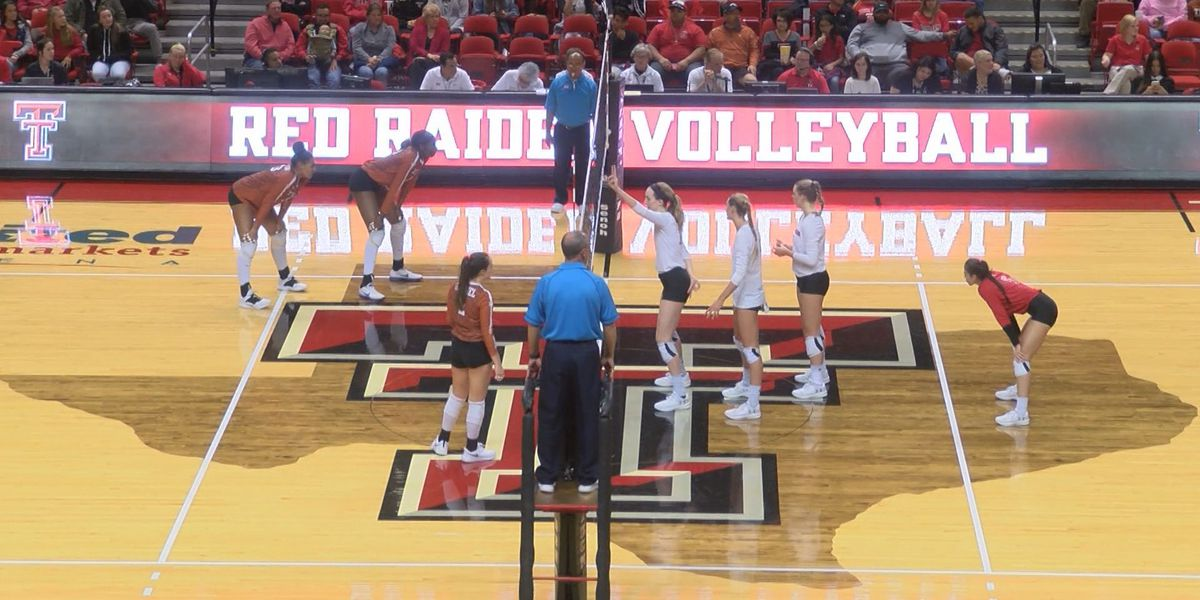 Texas Tech Volleyball drops home finale to No.5 Texas