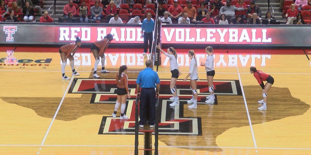 Texas Tech Volleyball drops home finale to No.5 Texas