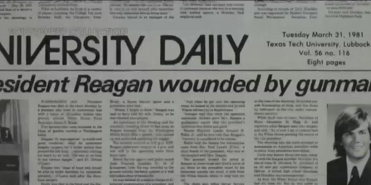Professor: Hinckley's ties to TTU brought assumptions about west Texas after Reagan assassination attempt