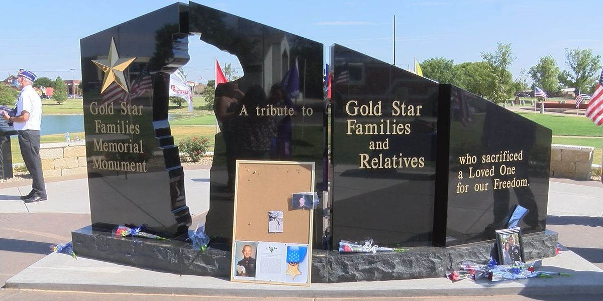 Lubbock's Monument of Courage dedicated on Purple Heart Day