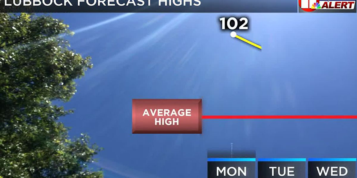 After the hottest day of the year some - a little, a smidgen, a bit - of heat relief is in sight.