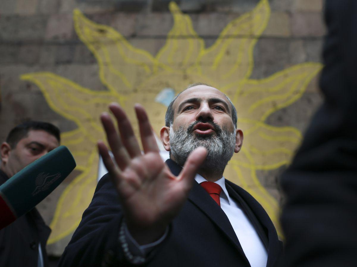 Armenian PM's bloc wins majority in parliamentary vote