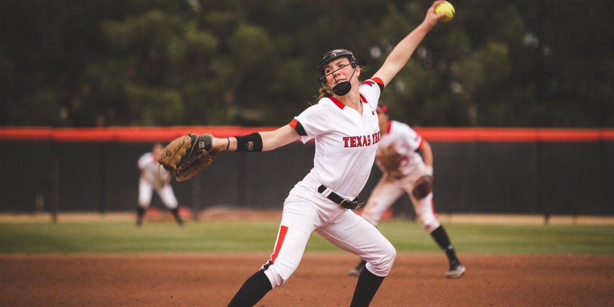 Red Raider softball shuts out SFA to take NISC opener