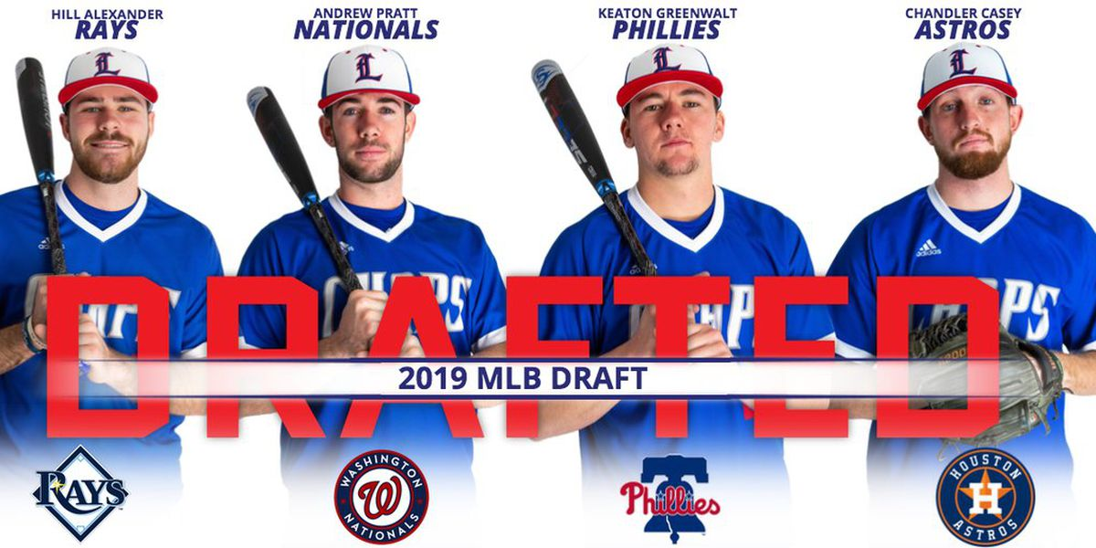 LCU matches most ever Chaps selected in MLB Draft