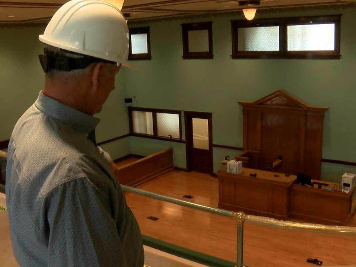 Lynn County Courthouse reopens after multi-million dollar historical renovation