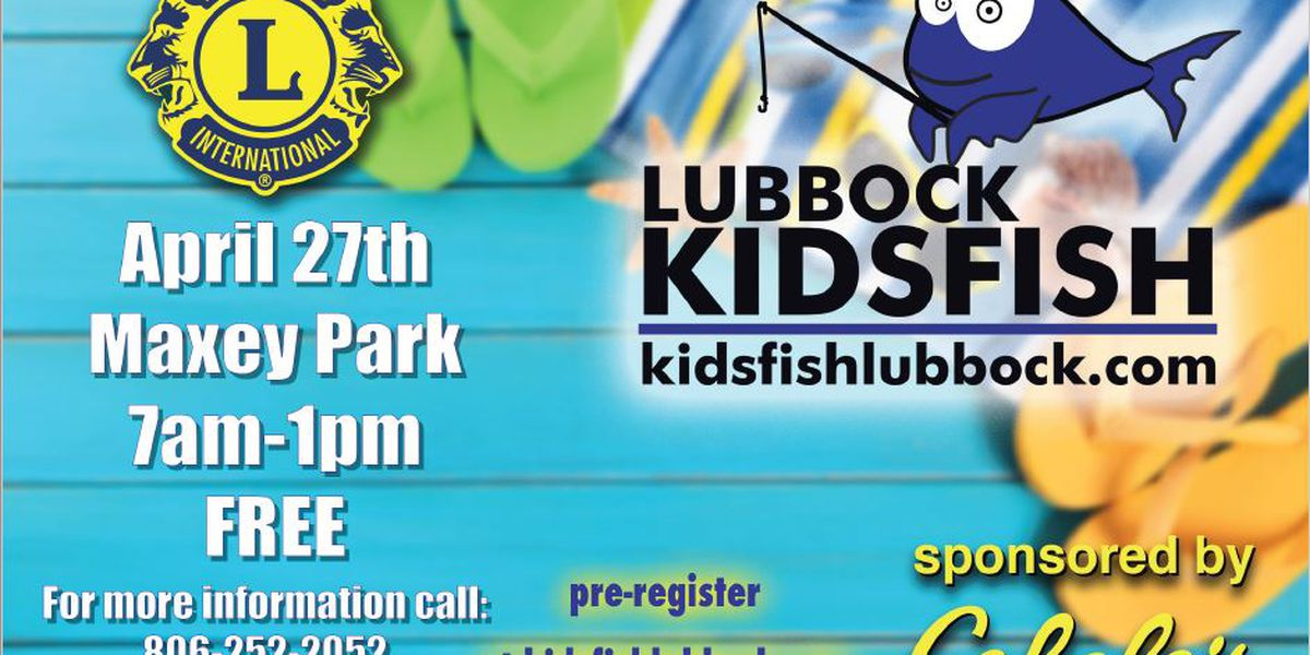 City to host Kidsfish at Maxey Park on Saturday