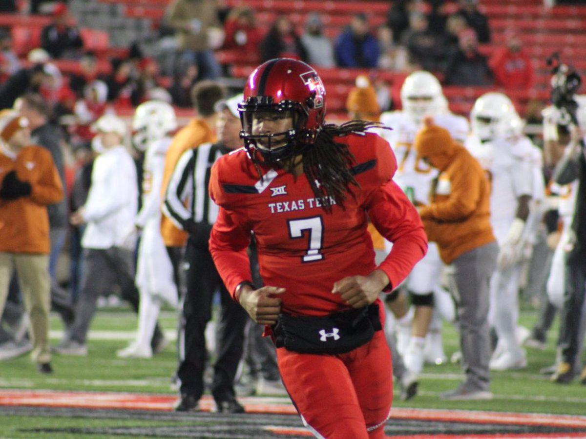 Red Raiders fall to Texas on senior day, 41-34