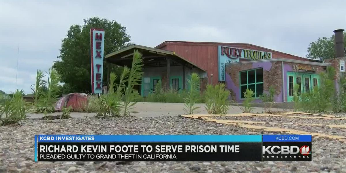 Richard Kevin Foote to serve prison time