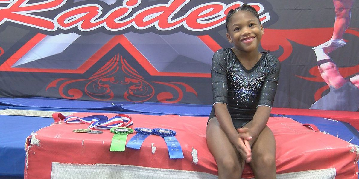 9-year-old Local Gymnast wins National Championship