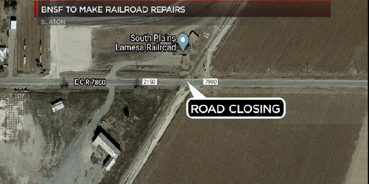 BNSF to close road for railroad repairs