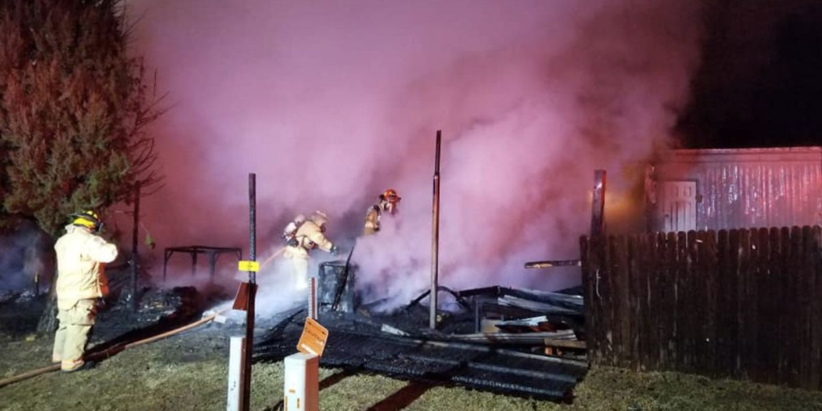 1 home destroyed, 2 dogs dead after Levelland house fire