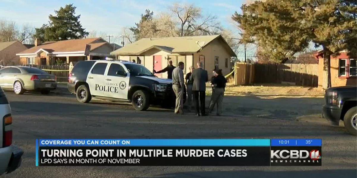 LPD sees turning point in multiple murder cases