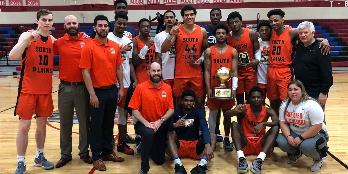 No. 2 South Plains College Texans edge No. 10 Eastern Florida State 82-74, advance to NJCAA Final Four