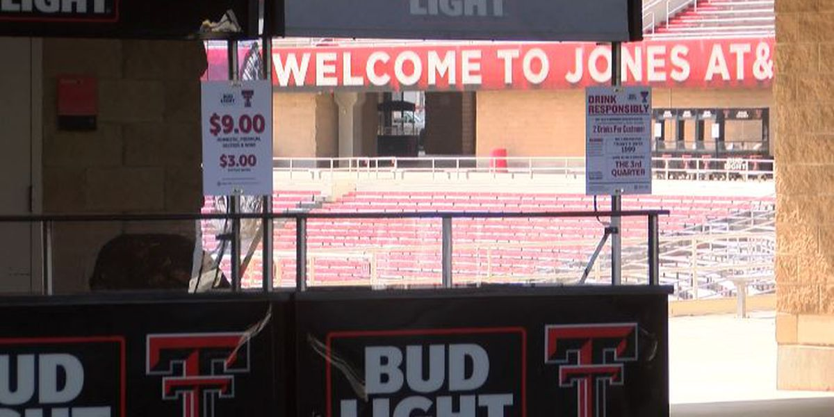 Texas Tech making seating, concession changes for Saturday's kickoff game