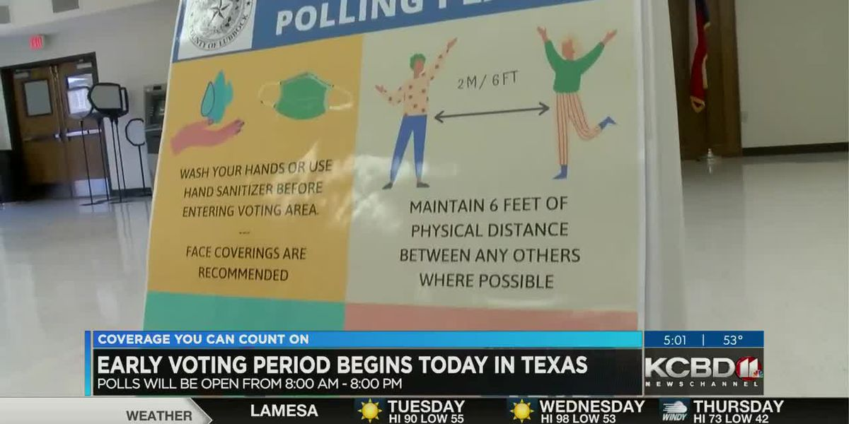 Early voting starts in Texas