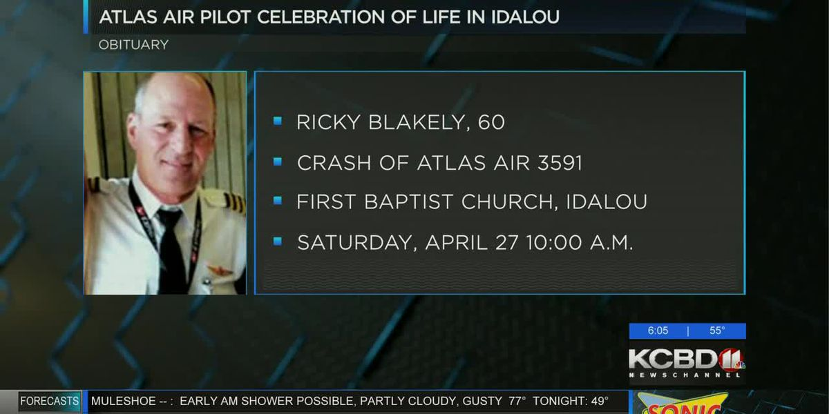 Atlas Air pilot to be remembered in celebration of life ceremony in Idalou