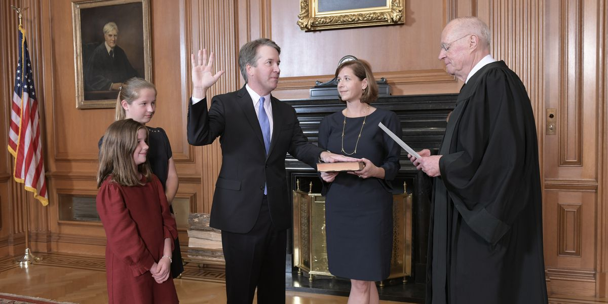 Kavanaugh sworn to high court after rancorous confirmation