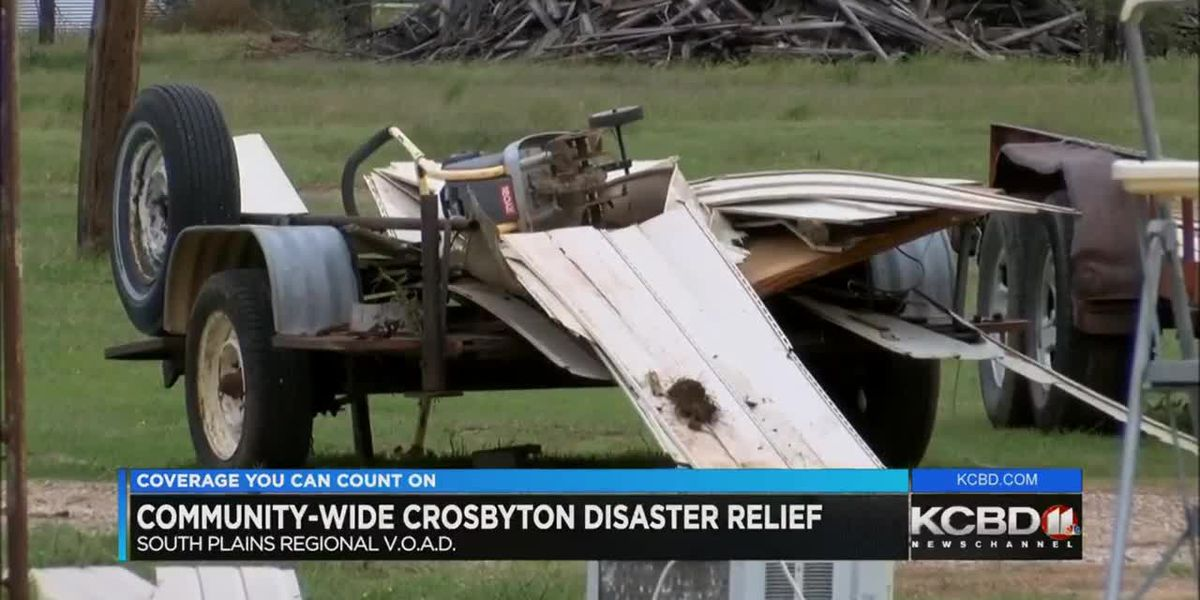 Volunteers needed for Crosbyton disaster relief