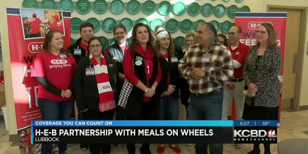 H-E-B partners with Meals on Wheels