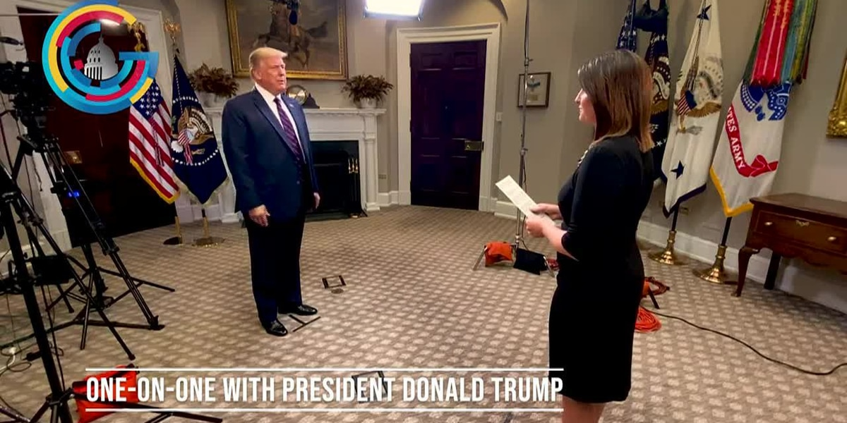 Full interview with President Donald Trump