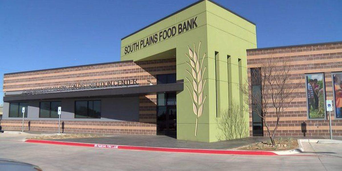 South Plains Food Bank announcing partnership with AimBank