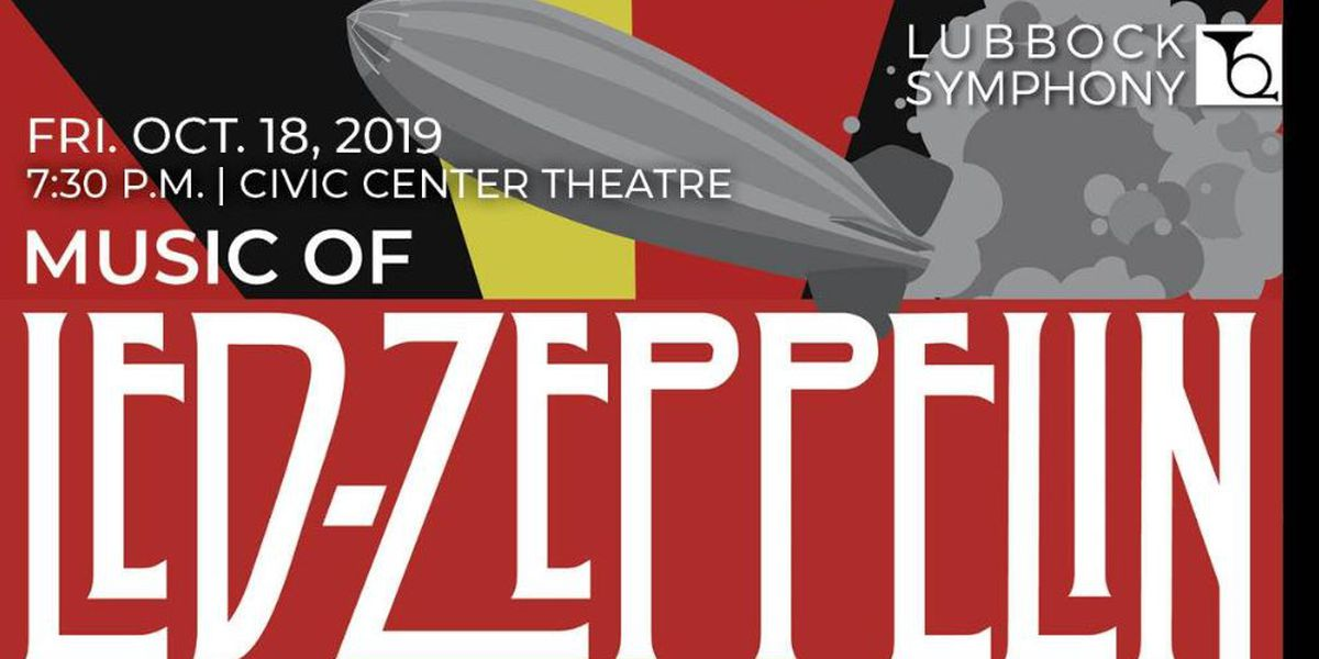 Lubbock Symphony Orchestra to play the music of Led Zeppelin